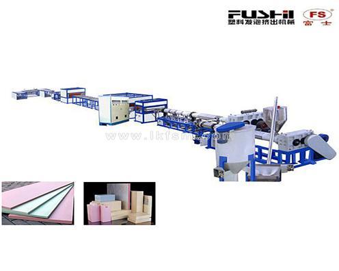 XPS发泡板材生产线