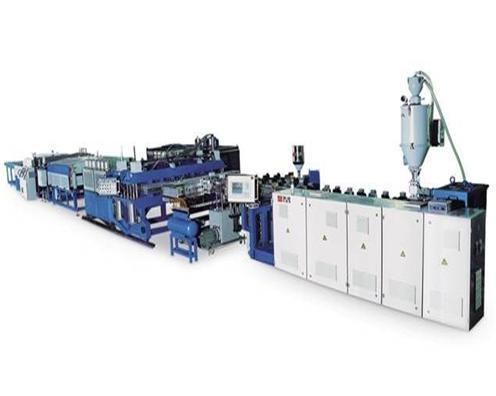 PC/PP中空格子板生产线